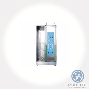vertical flame propagation tester for cables