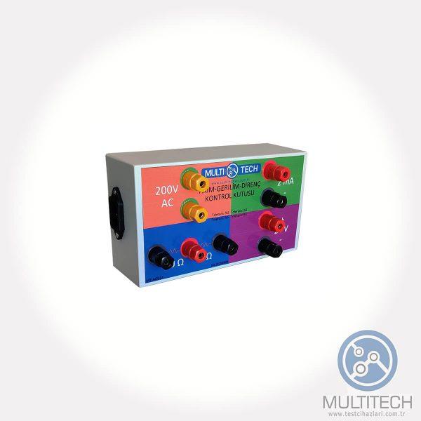 current voltage resistance verification box
